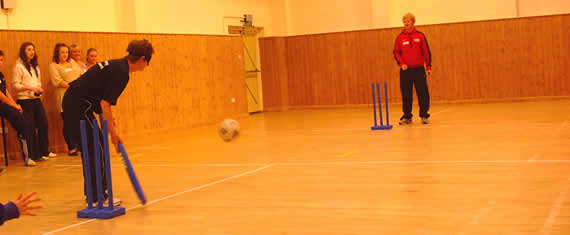 Visual Impaired Cricket Session