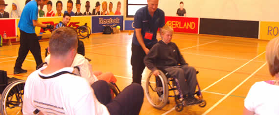 Wheelchair Awareness in Sport Exercise